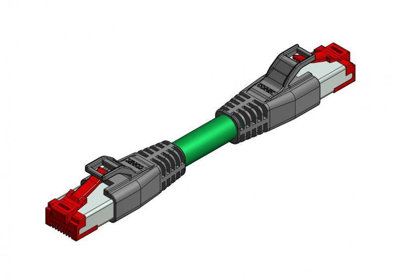 Industrial Ethernet  Verbindungsleitung RJ45 - Industrial Ethernet  Verbindungsleitung RJ45