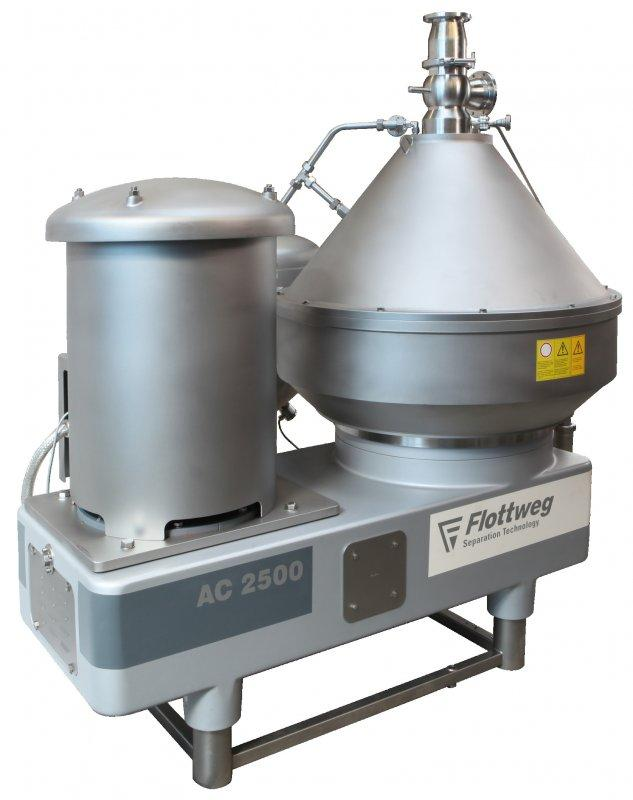 Separator - Flottweg produces disc stack separators  for separation and clarification.