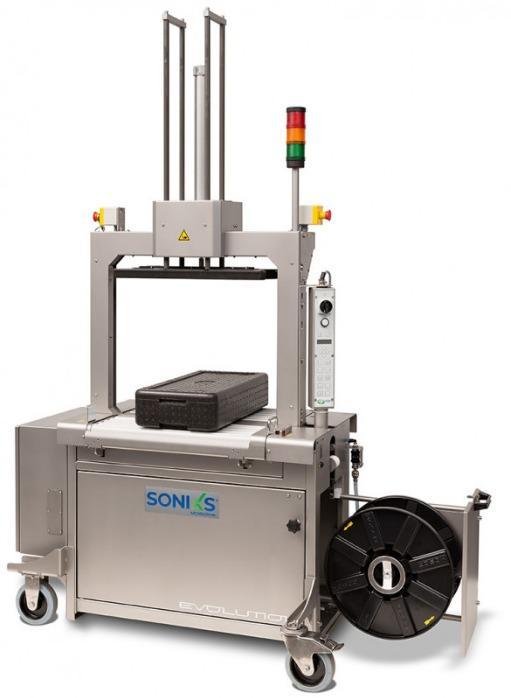 Evolution SoniXs MP-6 R-VA - 全自动不锈钢打包机