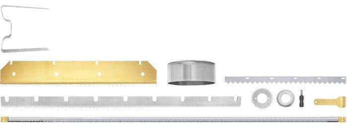 Foil knives - Perforating knives
