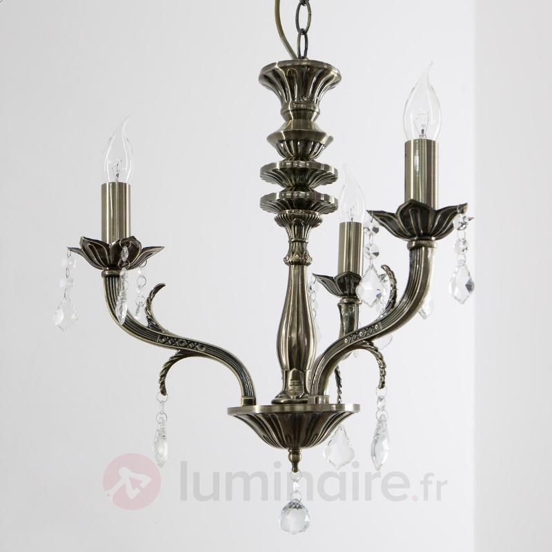 Lustre Palazza 3 lampes, design classique - Lustres classiques,antiques