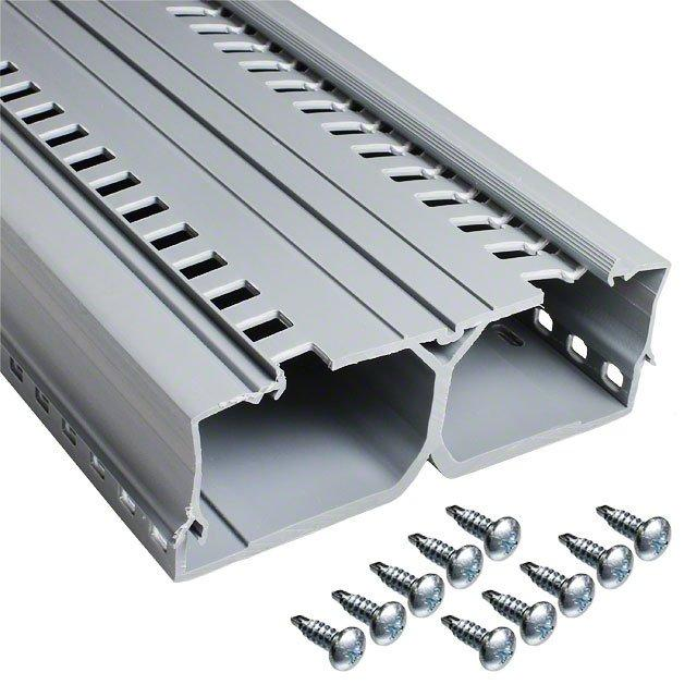 """2"""" PANEL MAX DIN WIRING DUCT 6' - Panduit Corp DRD22LG6"""
