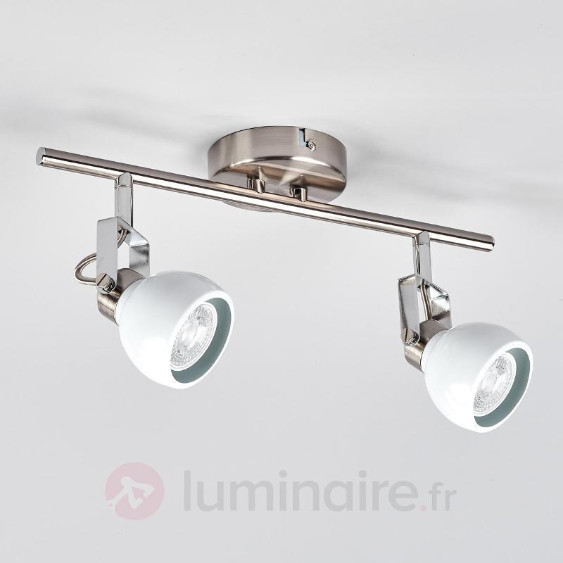 Spot LED à deux lampes Nima - Spots et projecteurs LED