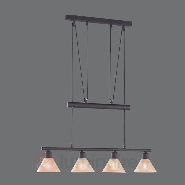 Suspension à hauteur réglable ZUG - Suspensions rustiques