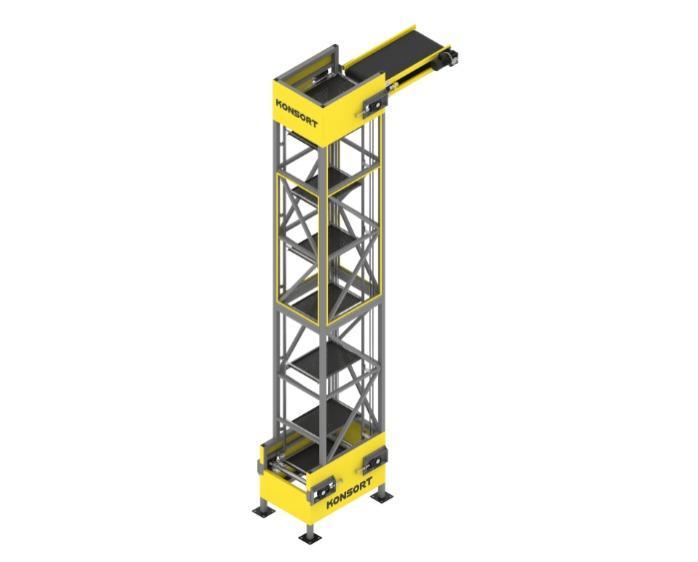 Вертикальный конвейер -