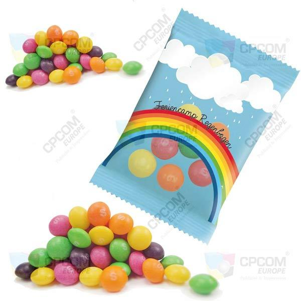 Skittles publicitaire