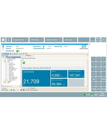 Field Xpert SMT77 - Leistungsstarker Tablet PC zur Gerätekonfiguration in Ex-Zone-1-Bereichen