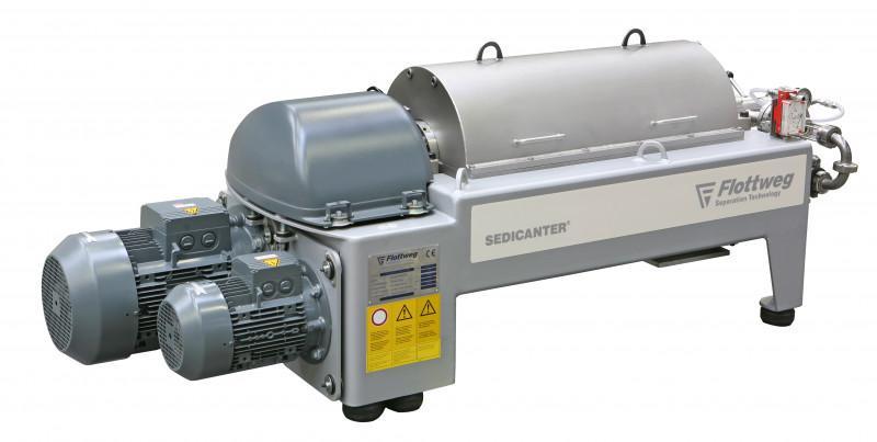 Sedicanter® Flottweg - La centrifughe decanter per sedimenti morbidi