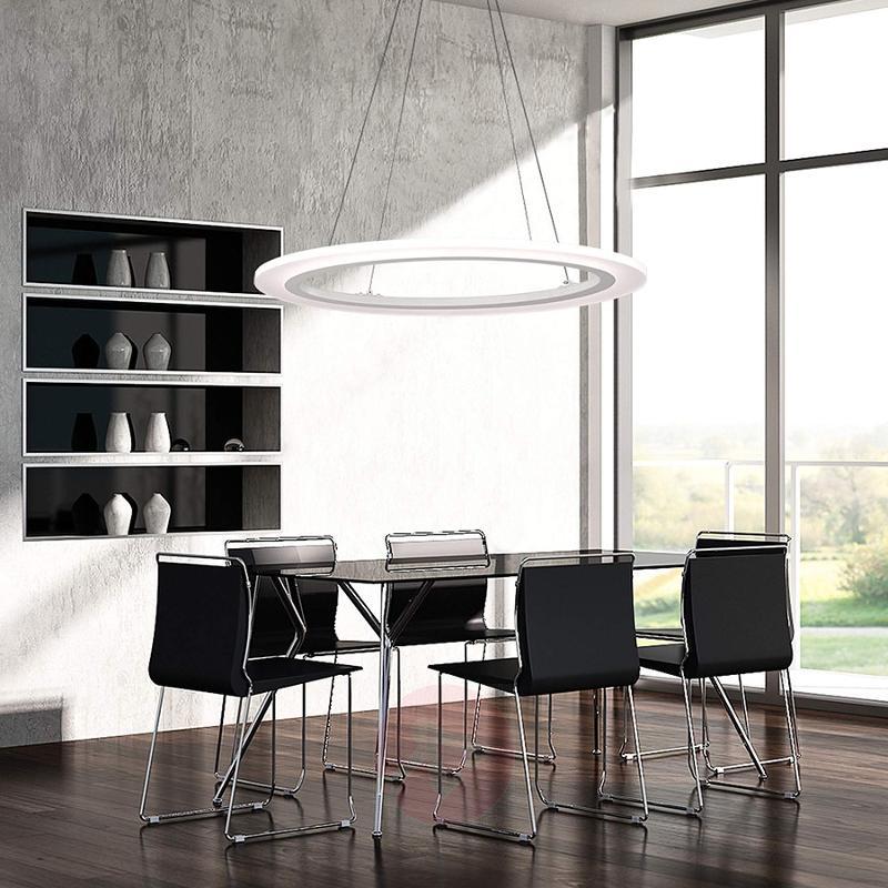 65 cm Oval LED hanging light Greta - design-hotel-lighting