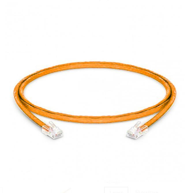 Cat5e Non-booted 24 Awg Pvc 1ft Ethernet Network - null