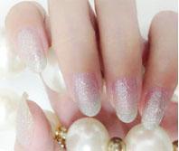 Cosmetics - Silver Glitter Nail Polish