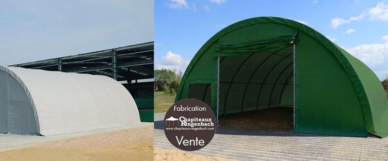 Tunnel de Stockage - Abris & couvertures diverses