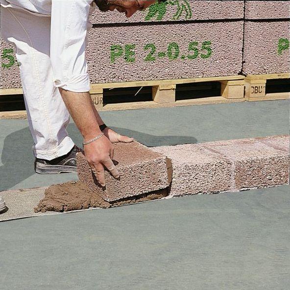 Hohlblock- und Mauersteine - Planelemente