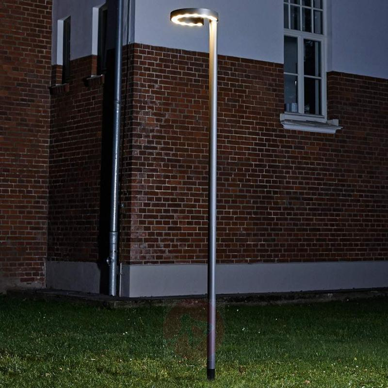 LED post light Jannis with 24 W Cree LEDs - Pole Lights