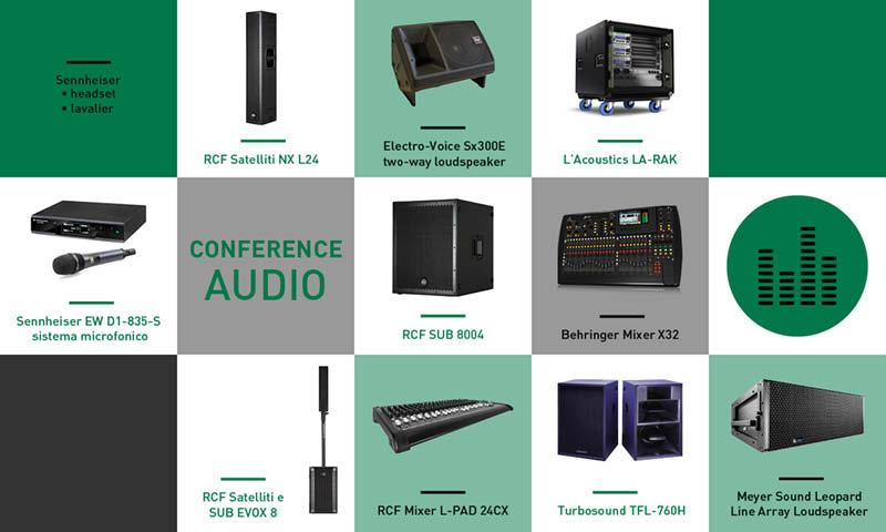 Conference audio