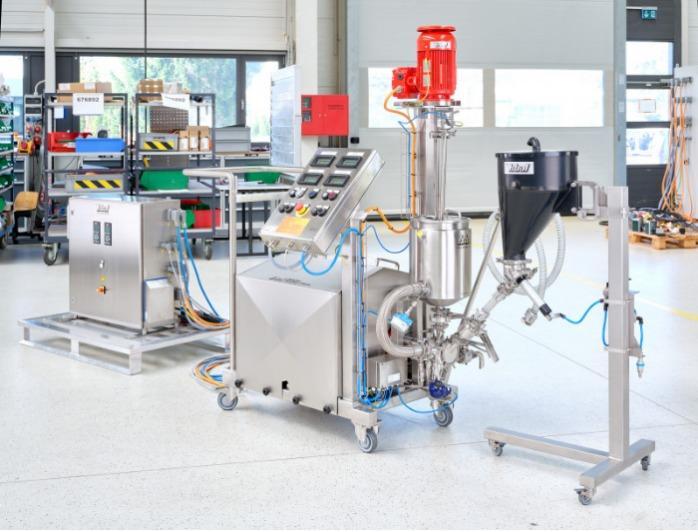 YSTRAL PiloTec / Instalación PiloTec - Instalaciones de proceso específicas para cada sector industrial