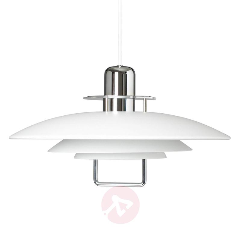 A classic: pendant light Felix, white - indoor-lighting