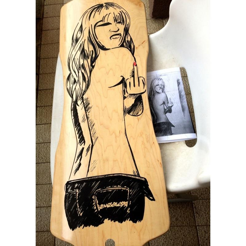 Longboard Personalizable Dance 48 - Skate/Longboard
