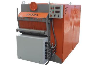 Multisaw two-shaft disk machine AKULA 2M -