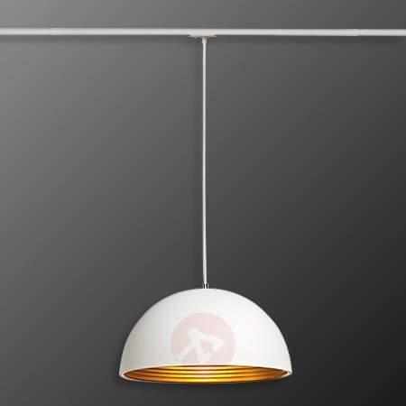 Forchini M Pendant Lamp for 1 Ph. Spot, White/Gold - 1-Phase Track