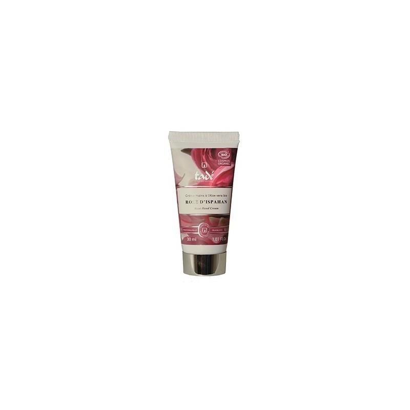 Crème Mains Rose D'ispahan Certifiée Cosmos Organic - 30ml - Crème mains bio