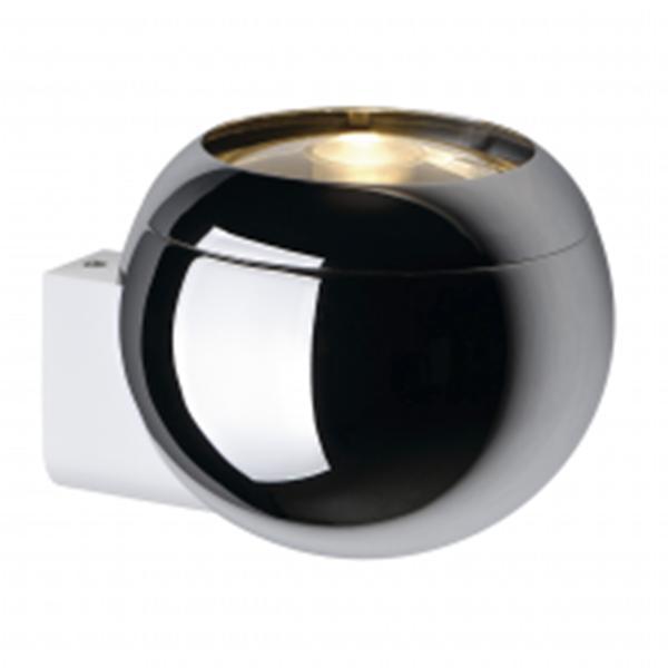 "APPLIQUE ""LIGHT EYE BALL"" GU10 75W CHROME - Intérieur décoratif"