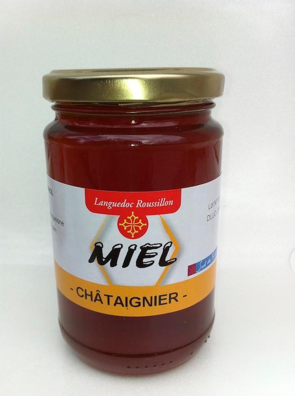 Miel de Chataignier 400g - Épicerie sucrée