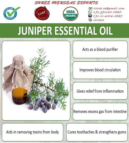 Organic Juniper Leaf Oil - USDA Organic