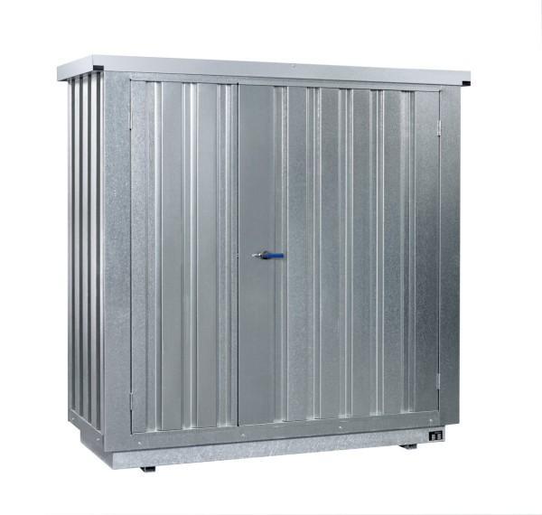 Gefahrstoffcontainer SRC 1.1W verzinkt mit 2-flügeliger Tür - Gefahrstoffcontainer