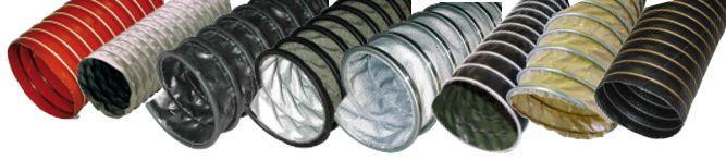 Tuyauterie et gaine flexible TISSU / HAUTE TEMPERATURE - Tuyauterie et composants