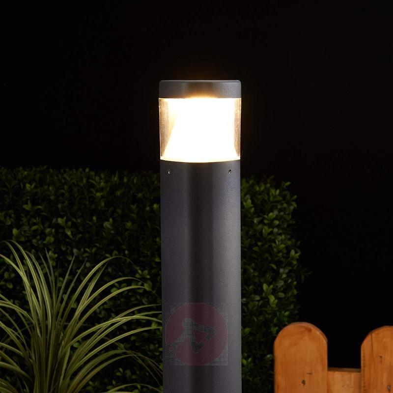 Milou LED Bollard Lamp Made of Aluminium - Path and Bollard Lights