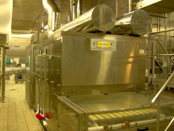 Tunnels de dorage et gratinage IR - Tunnels IR de dorage, gratinage, rotissage, fusion de fromage...