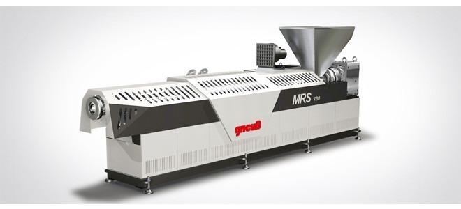 Extrudeuse MRS - Extrudeuse monovis assurant un dégazage optimal.