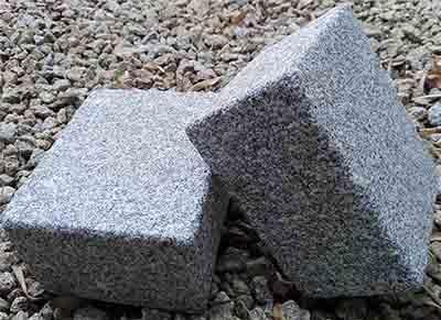 Pavé Granit - Pavés pour pose en granit