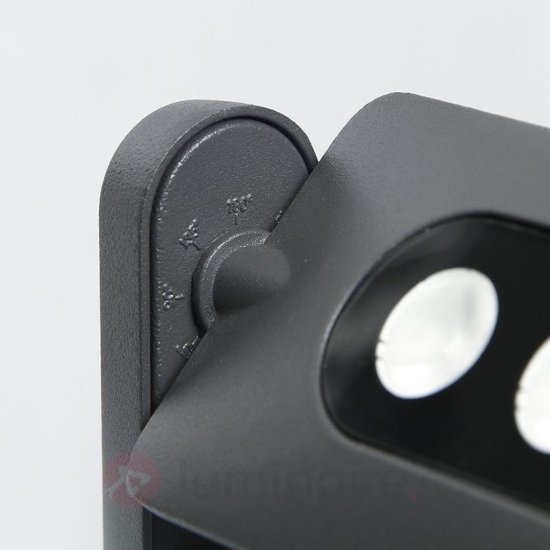Spot extérieur LED Keiran Duo à 6 POWER LED - Appliques d'extérieur LED