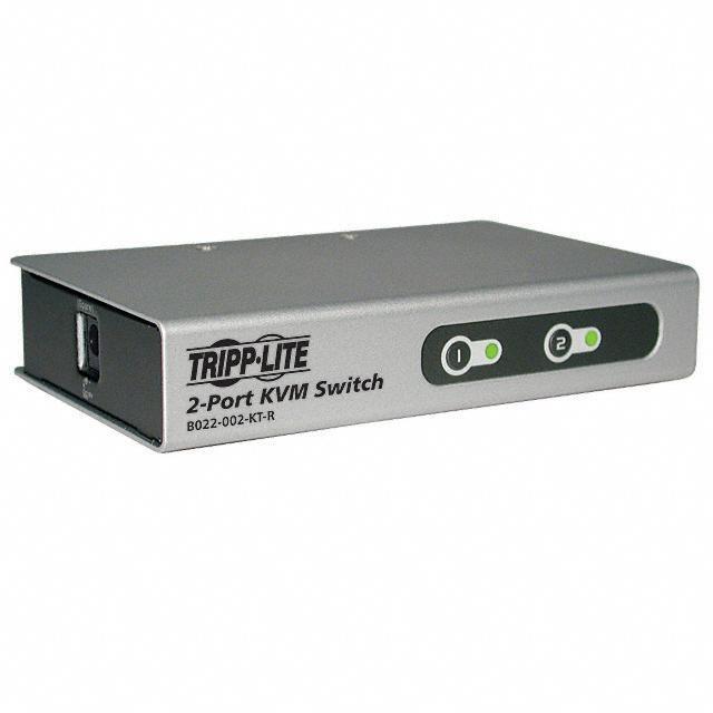 SWITCH KVM PS/2 2PORT W/CABLES - Tripp Lite B022-002-KT-R