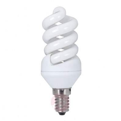E14 4 W 827 LED candle bulb, twisted - light-bulbs