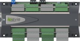 IPEVIA 6L - CONTRÔLE D'ACCÈS POUR PETIT ET MOYEN - Centrale de contrôle d'accès pour 6 lecteurs