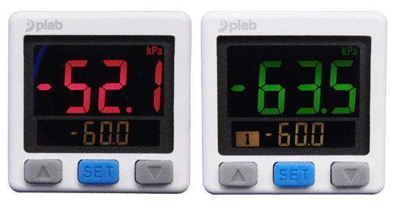 accessoires systemes - Vacuostat à affichage numérique 3 couleurs M8