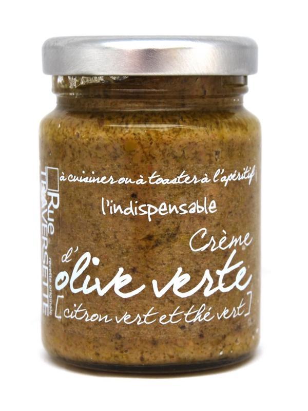 Indispensable crème d'olive verte citron vert et thé...