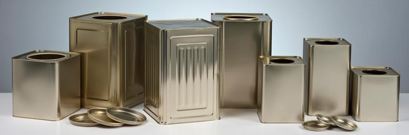FOOD METAL - SQUARE CANS