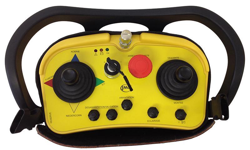 Radiocommande industrielle robuste