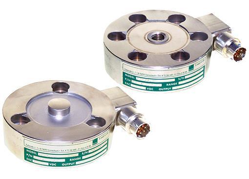 Precision tension and compression load cell- 850xx - Tension, compression load cell, button type, stainless steel, precision, durable