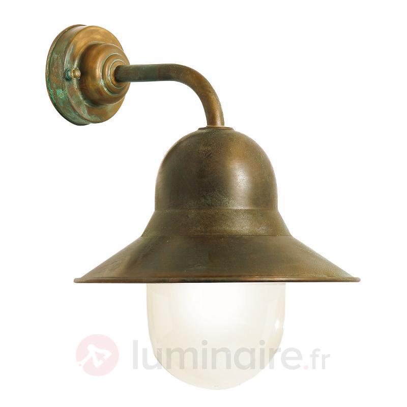 Applique d'extérieur simple Lampara - Appliques d'extérieur cuivre/laiton
