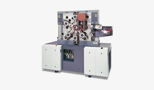 Multi-slide machine- MCS 1 - Highspeed multi-slide machine MCS 1 with two processing faces