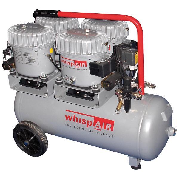 Whispair mobiler Kompressor CW200/50 - Ölgeschmierte Flüsterkompressoren