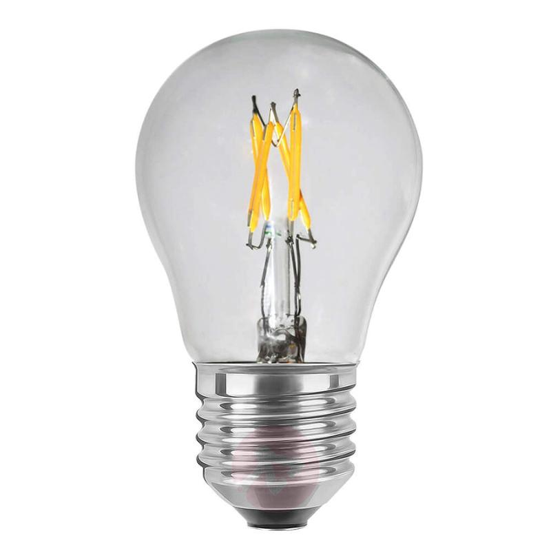 E27 2.7 W LED lamp, transparent - light-bulbs