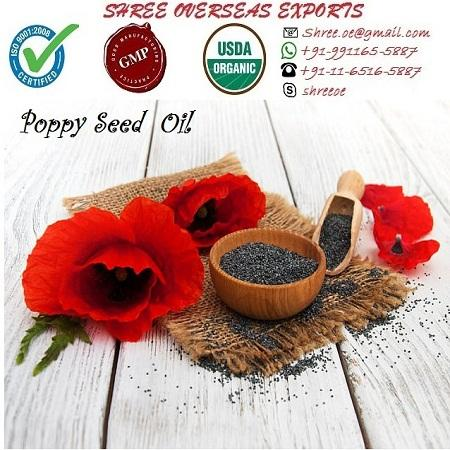 Organic Poppy Seed Oil - USDA Organic