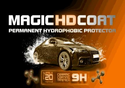 MAGIC HD COAT - 9H Ceramic Coating for paint protection