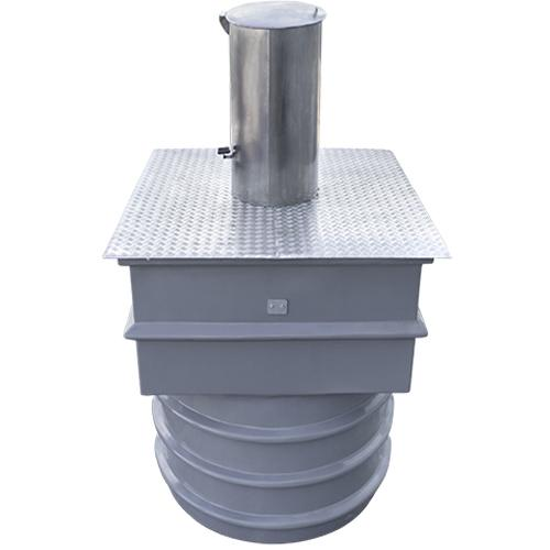 Underground waste & recycle containers - with a capacity of 3m3